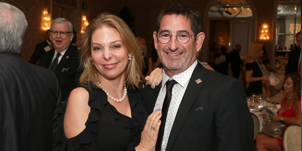 Nina Marino and Richard Kaplan
