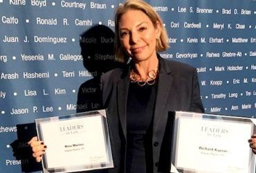 Nina Marino and Richard Kaplan recognized as Leaders in the Law by the Los Angeles Business Journal