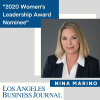Kaplan Marino congratulates Partner Nina Marino on her inclusion in this year's Los Angeles Business Journal Women's Leadership Awards.