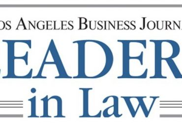 Partners Nina Marino and Richard Kaplan have been nominated for this year's Los Angeles Business Journal's 'Leaders in Law' Awards.