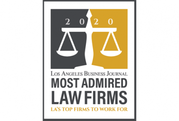 Kaplan Marino Named Most Admired Law Firm by the Los Angeles Business Journal