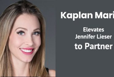 Kaplan Marino Elevates Jennifer Lieser to Partner
