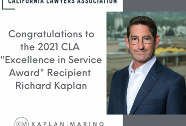 Richard Kaplan Named 2021 Solo and Small Firm Excellence Award Winner