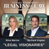 Kaplan Marino's Nina Marino Richard Kaplan Selected as Legal Visionaries